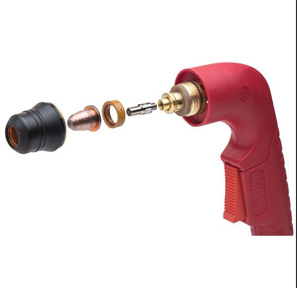 Trafimet S45 plasma cutting torch and parts