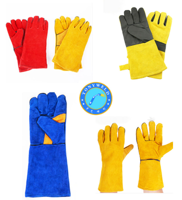 welding spare parts welding tools safety welding gloves