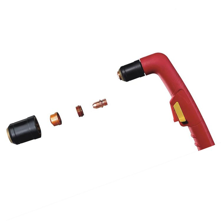 Trafimet A141 plasma cutting gun and consumables