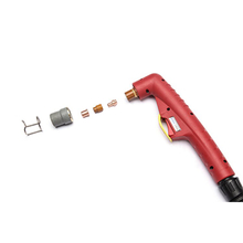 Trafimet CB50 plasma cutting gun and consumables